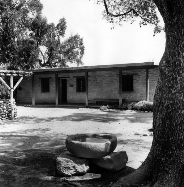 Hugo and Victoria Reid's adobe